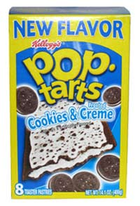 Cookies and Cream Pop-Tarts
