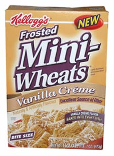 Frosted Mini-Wheats Vanilla Creme
