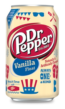 Limited Edition Dr Pepper Vanilla Float