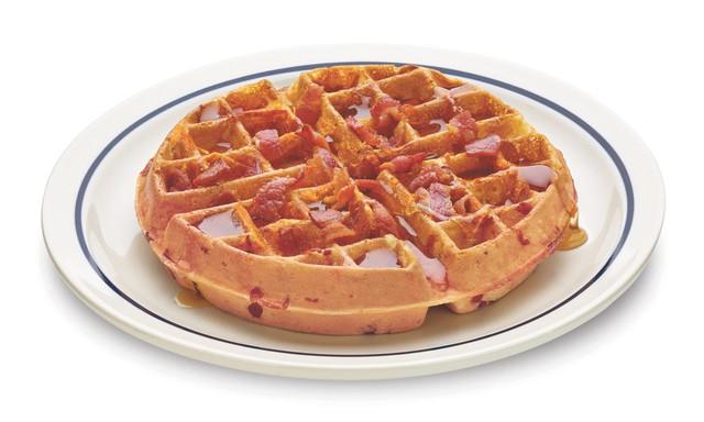 IHOP Bac n Cheddar Waffullicious Waffles