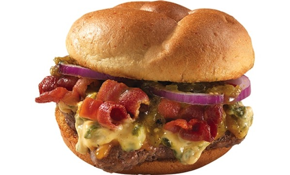 Wendy s Green Chile Quesoburger