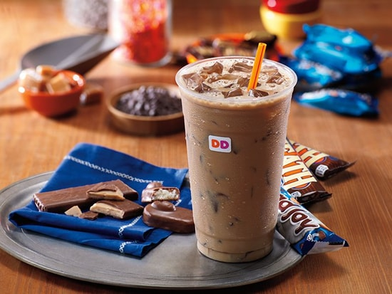 Dunkin Donuts Heath and Almond Joy Iced Coffee