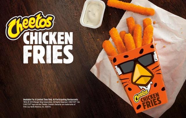 Burger King Cheetos Chicken Fries