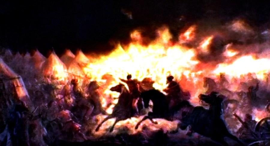 Night Battle Vlad Tepes