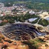 An aerial view of Murowa Diamond mine