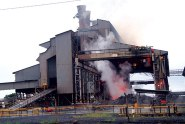 A partial view of the Zimasco smelter in Kwekwe.