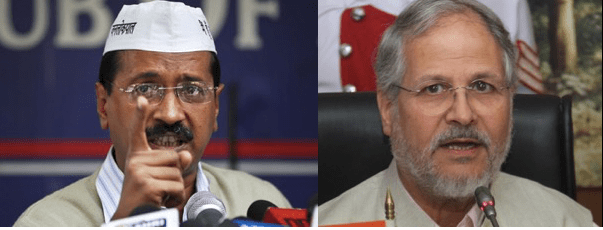 Delhi Politics - Kejriwal & Jung - Face Off