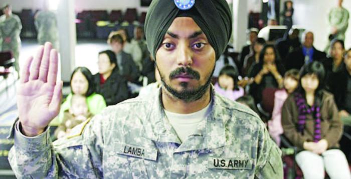 'It doesn't concern anyone what religion you are - I bleed the same color': Simranpreet Singh Lamba First Sikh to become U.S. army soldier for nearly three decades.