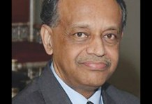 George Abraham, the Chairman of the Indian National Overseas Congress, USA