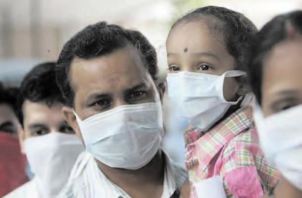 SWINE FLU TOLL REACHES around 1600 in india