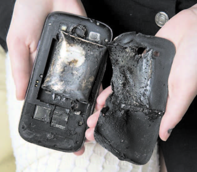 Why smartphone batteries sometimes explode