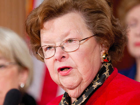 Sen. Barbara Mikulski (D-Md.) became the 34th Democratic senator to announce her support for Obama's nuclear Iran deal, making a threat by Republicans to block the deal less likely.