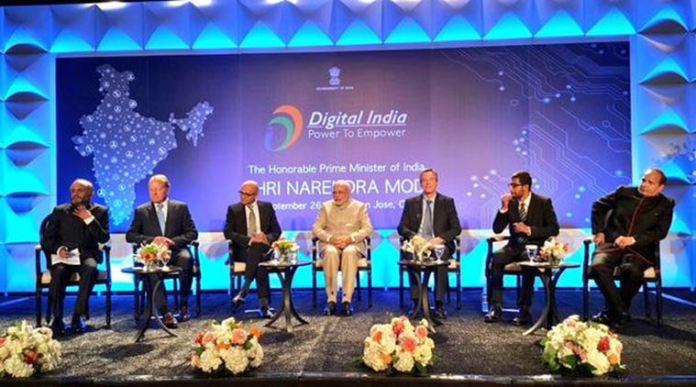 Prime Minister Narendra Modi at the banquet reception in San Jose. MEA India Photo