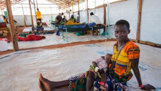 The UN health agency said that from August through Wednesday October 21, 4,922 cases of cholera had been tallied in 12 regions of Tanzania, and 74 deaths (AFP Photo/Daniel Hayduk)