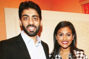 Dhruv Marwaha with Nina Davuluri Photo Courtesy: Jay Mandal