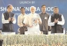 Prime Minister Narendra Modi launching the Digital India Week in New Delhi. The Digital-India initiative is also like the other big-ticket, high-visibility measures that have been kickstarted in order to get foreign investment. Small is not beautiful for the government.