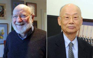 William C. Campbell and Satoshi Omura. Photo- Reuters