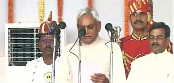 Nitish Kumar took oath as Bihar Chief Minister for the fifth time on November 20