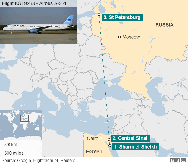 Russian airliner 'broke up in mid-air'