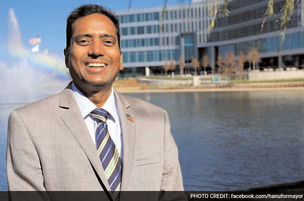 Hanu Karlapalem is expected to formally announce his candidacy for Mayor of Madison, Alabama. It is the same city where Sureshbhai Patel was assaulted by a policeman