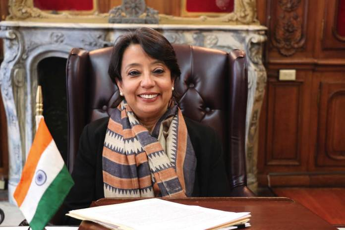 Ambassador Riva Ganguly Das in her office at the Consulate General in New York