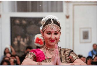 Ms. Priyanka Chowdhury performing Bharatnatyam