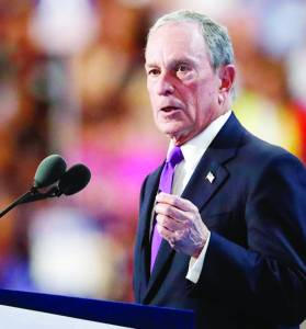 Former New York Mayor Michael Bloomberg labeled Trump a conman