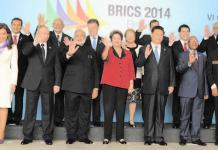 ":""The decision to invite BIMSTEC countries, in place of SAARC, to the summit is clearly a decision that relocates India's 'neighborhood first' policy to its east."" Picture shows BRICS leaders at 2014 summit (File photo)"
