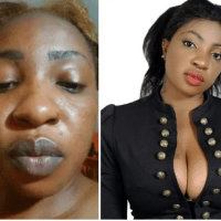20 Photos of Nigerian female celebs with and without makeup on - You need to see their real looks!