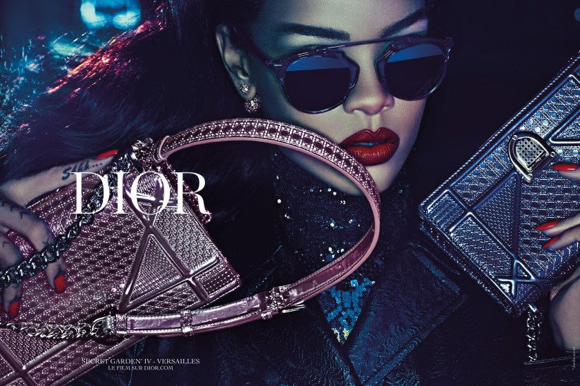 Checkout Rihanna's new Dior sunglasses collection worth N280k (+Photos)
