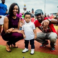 10 Nigerian celebrities and their cute families (With Pictures)