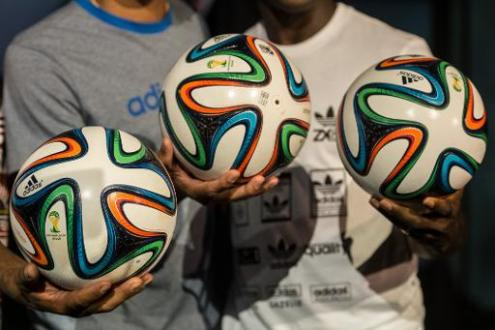 Official World Cup ball unveiled in Brazil