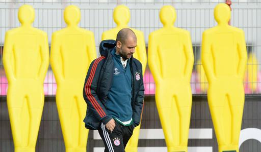 Bayern's Guardiola targets perfect six