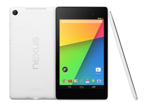 Google Announces Nexus 7 in New White Color
