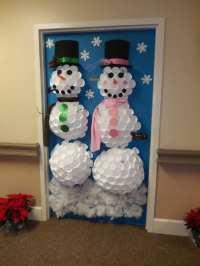Christmas Door Decorations Contest Winners   Christmaswalls.co