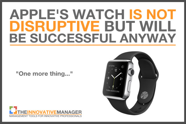 Apple-watch-is-not-disruptive