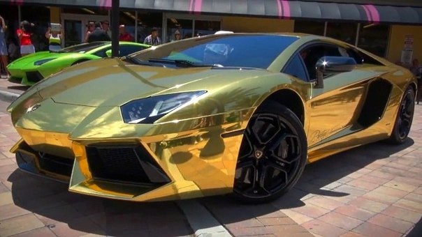Golden Lambo Lands In Kenya!