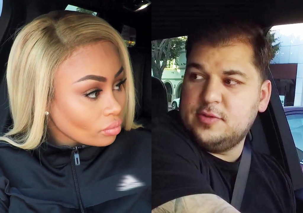 Rob and Blac Chyna split: Chyna cleans out house and takes baby