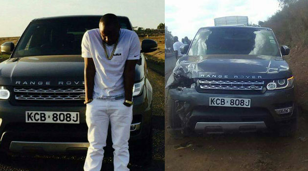 Jaguar speaks about his car's involvement in an accident