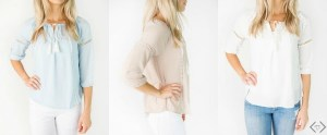 Cute Tops For 50% Off With Free Shipping!