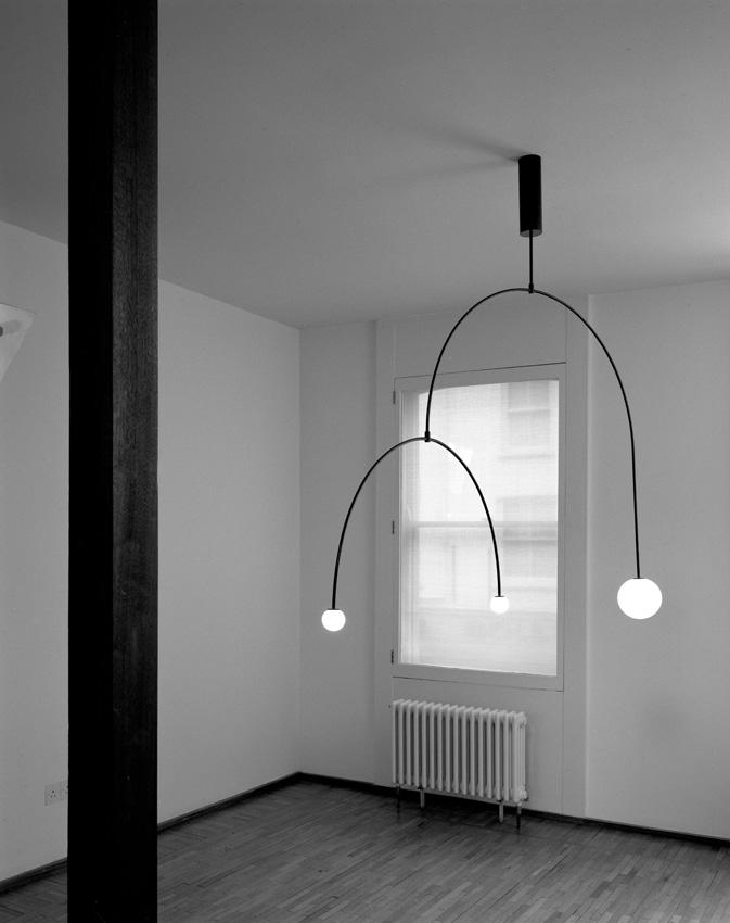 Michael Anastassiades Clean essential design lamps between light
