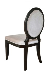 Charlotte Modern Oval Back Dining Chair