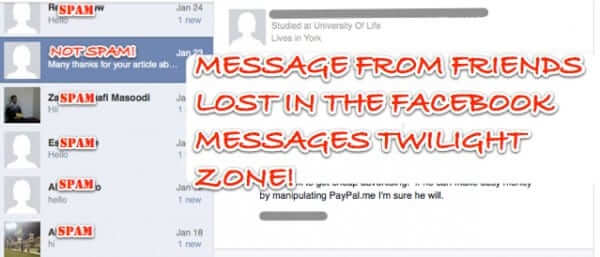 If You\u0027re Not Checking Your Facebook Filtered Folder You\u0027re Missing