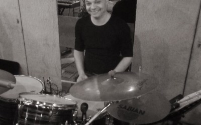 Meet our new drummer: Robert Curiel