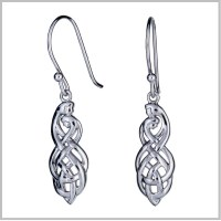 Celtic Couples Knot Earrings | Celtic Couples Jewelry ...