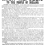 The Proclamation Of The Irish Republic, 1916