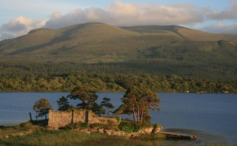 The ruins of the MacCarthy Mor castle, near Killarney
