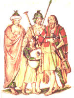 A representation of Gaelic Irish family