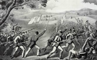 Battle of Ridgeway 1866