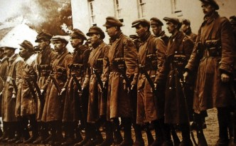 National Army troops, the Army was used to break up pickets.